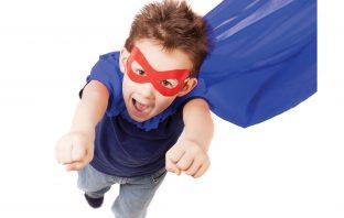 super hero boy kid costume