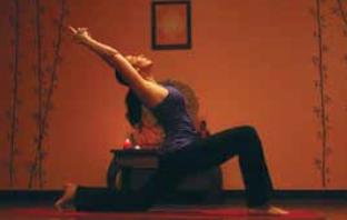 Leah Hartofelis Yoga Pose