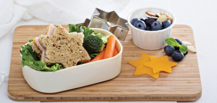 Build a Bento Box Lunch for Kids